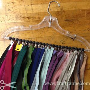 zipper storage organizer