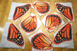 monarch butterfly fabric for costume