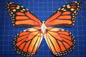 monarch butterfly costume step 8
