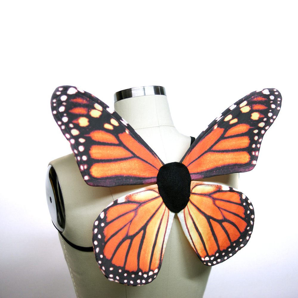 Monarch Costume Wings Tutorial Make Realistic Diy Wings