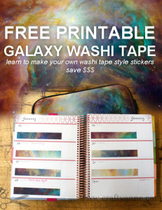 diy washi tape for erin condren planner