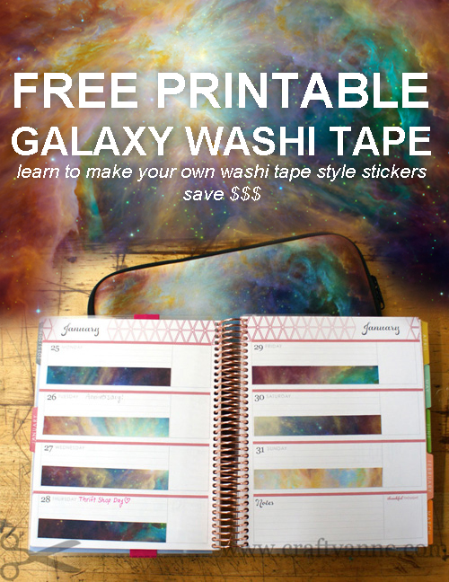 picture regarding Free Printable Washi Tape named Printing Your Individual Do-it-yourself Washi Tape for your Planner