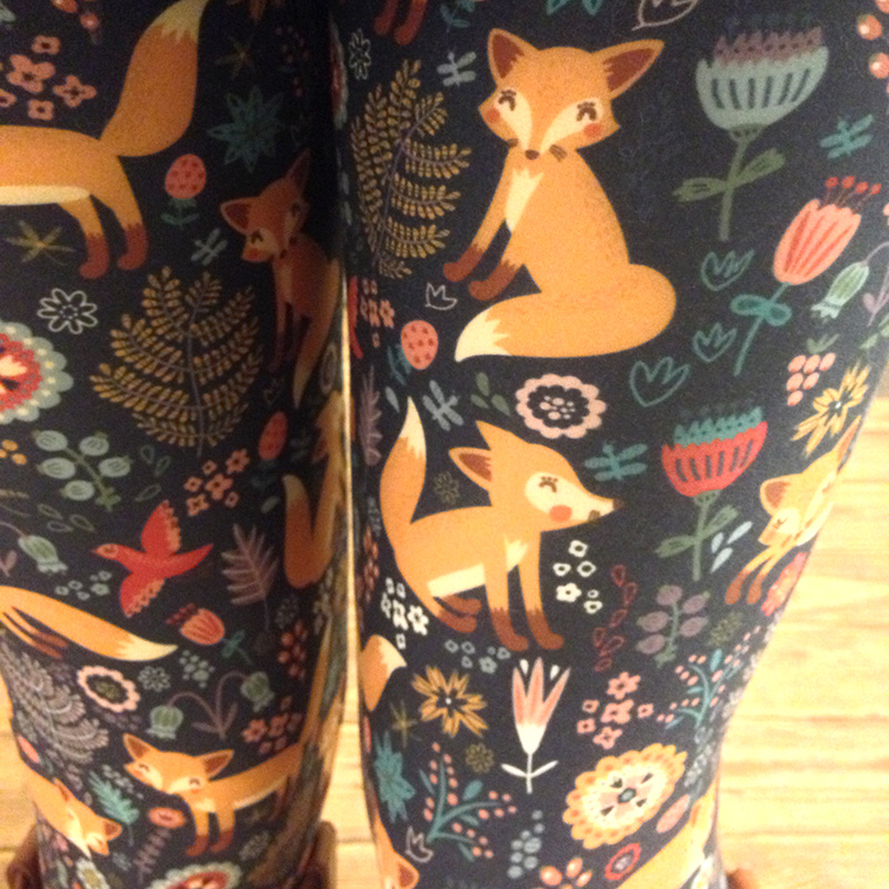 fox fabulegs leggings