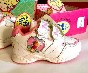 vintage polly pocket sneakers