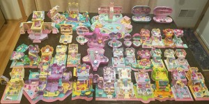 vintage polly pocket lot