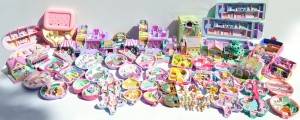 huge vintage polly pocket collection
