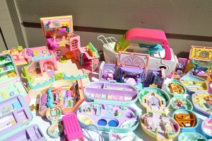 vintage polly pocket compacts