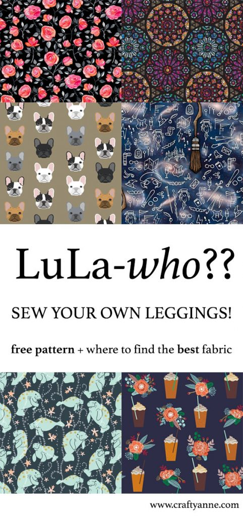 how to sew leggings
